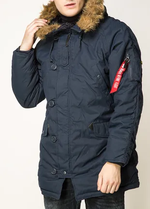 Куртка аляска Altitude Parka Alpha Industries (синя)