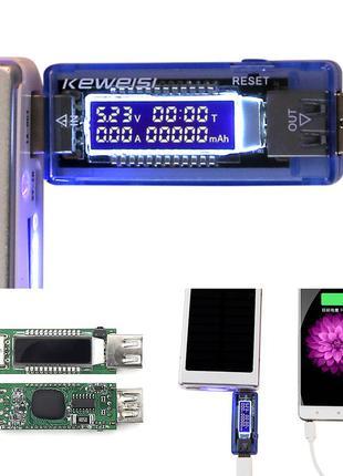 Тестер тока и напряжения для мобильных устройств Keweisi V20