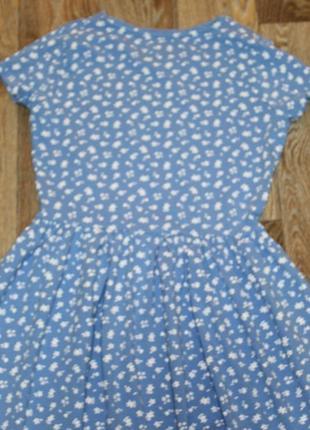 Трикотажное платье f&f на девочку 13-14  лет в отличном состоянии