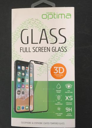 Стекло iPhone 6 Plus (0.3 мм, 3D/4D) Белое