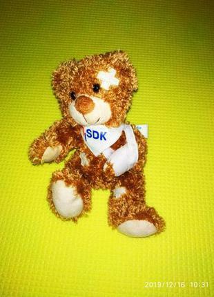 Детская мягкая игрушка, медвежонок, Германия