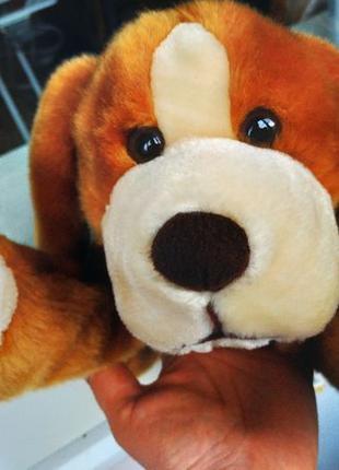 Мягкая игрушка, собака, щенок Дружок, немецкое качество