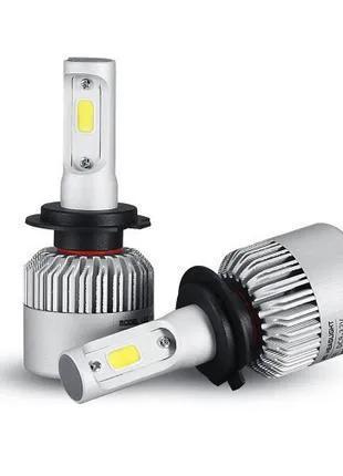 Автолампы светодиодные LED C6-H1/H3/H4/H7