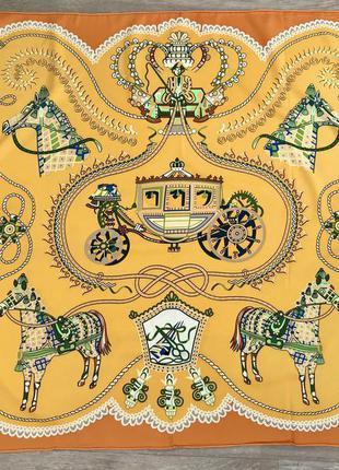 #розвантажуюсь новый шелковый платок в стиле hermes