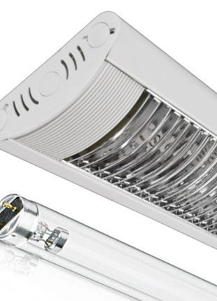 Бактерицидный светильник с лампой 36W