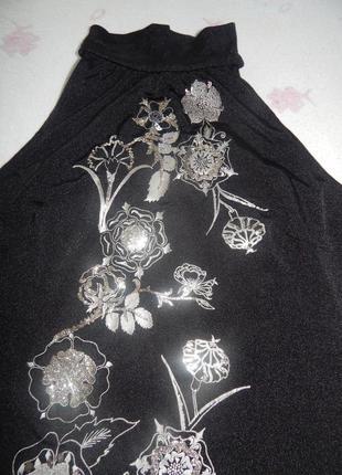 Вечерняя блузка - топ etam