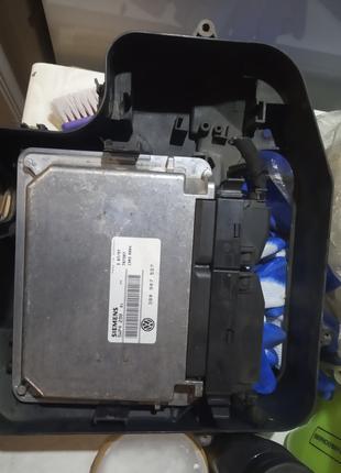 Блок управления двигателем Фольксваген пассат б5 1.6 бензин