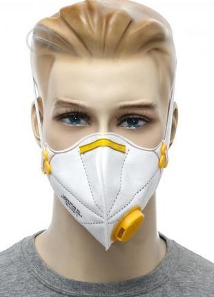 Респиратор микрон с кламаном, респфарм, маска для лица