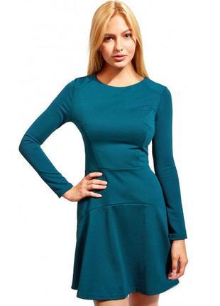 Стильное базовое платье офис для бизнес леди
