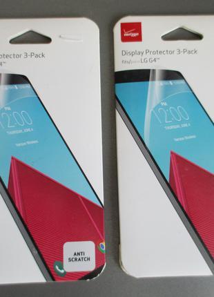 Фирменная verizon защитная пленка для LG G4