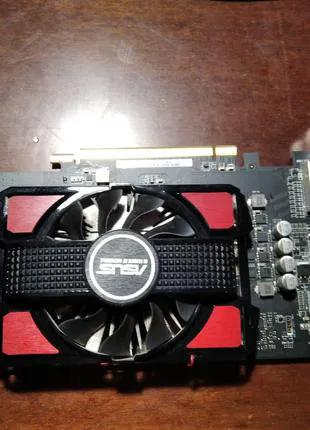 Видеокарта Asus Radeon RX 550 4GB