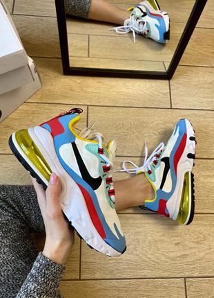 Nike air max 270 react женские кроссовки найк аир макс 270