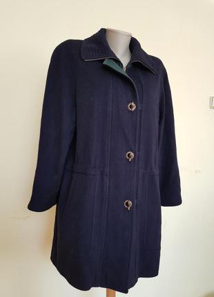 Добротное качественное немецкое пальто шерсть кашемир