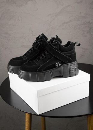 Кроссовки ms spring sneakers black черные