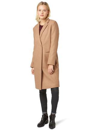 Стильное женское пальто размер 46