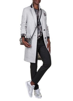 Супер стильное дорогое пальто бойфренд hugo boss оригинал