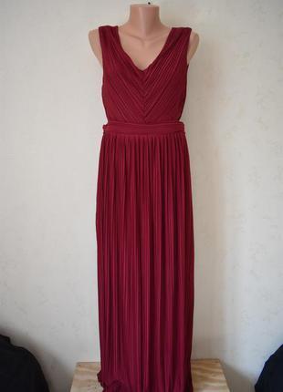 Красивое плиссированное платье miss selfridge