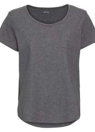Базовая женская хлопковая футболка esmara германия, биохлопок