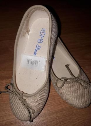 Стильные туфельки для девочки dmb (испания)