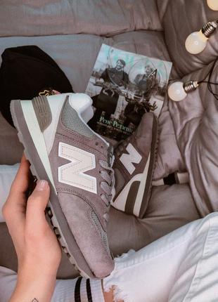 New balance 574 brown 🔺женские кроссовки нью беланс
