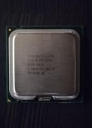 Процессор (Intel Pentium Dual Core E6300 2.8GHz)