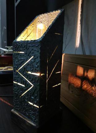 Светильник из металла в стиле лофт,ручной работы.
