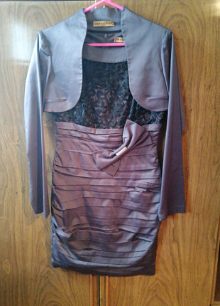 Платье футляр с болеро