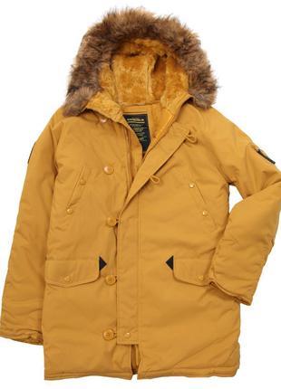 Куртка парка Altitude Parka Alpha Industries (жовта)
