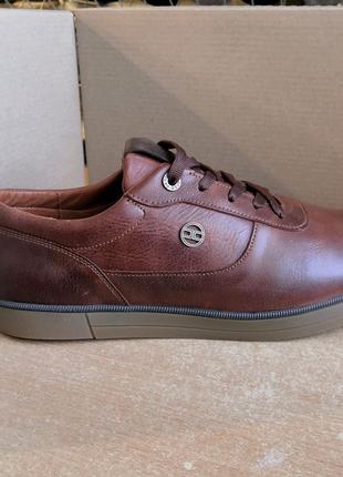 """Мужские туфли """"Madoks"""" из натуральной кожи."""