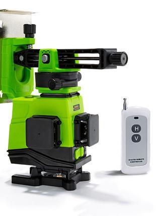 Лазерный уровень Svarog 3D с нижним диодом с пультом