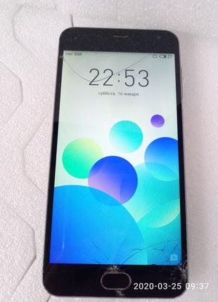 Телефон Meizu m2 m578h 2/16GB