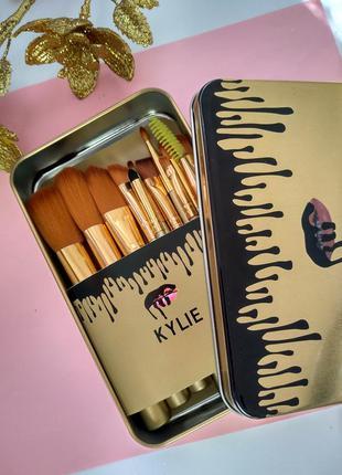 Набор кистей для макияжа,12 кистей
