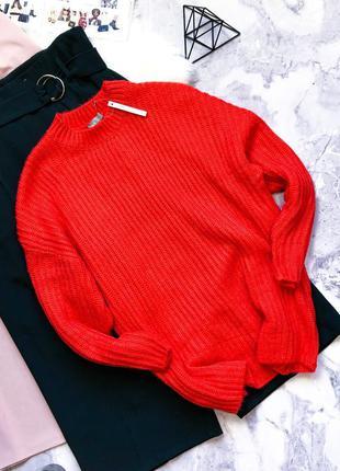 Шикарный новый с биркой удлинённый свитер с биркой оверсайз asos