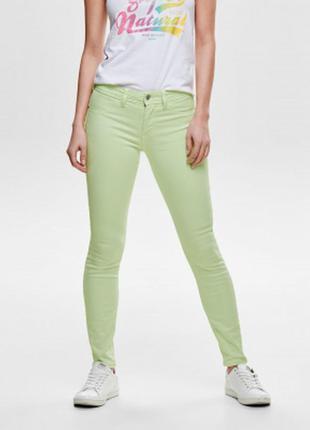 Салатовые джинсы. бангладеш. charles voegele