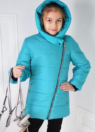 Куртка детская, курточка на девочку, демисезонная, косуха