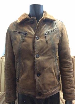 Куртка на меху/ дубленка