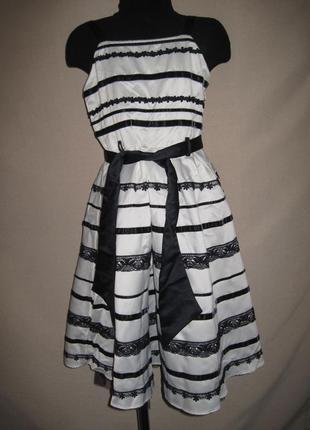 Нарядное платье спенсер 8л