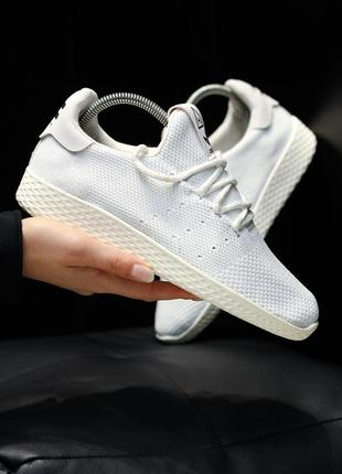 Adidas x pharrell williams tennis hu primeknit ♦ женские кросс...