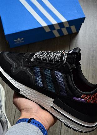 Commonwealth x adidas zx 500 rm black&white ♦ мужские кроссовк...