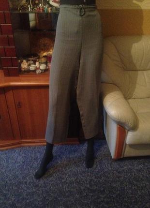 Тренд 2018 - брюки серые (сзади на резинке) - акция две вещи з...