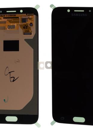 Дисплей Samsung J730F (2017) с тачскрином черный, ОLed Оригинал