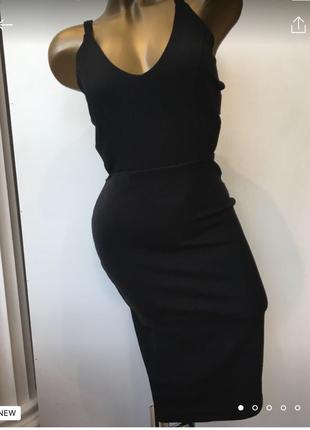 Оригинальное платье boohoo
