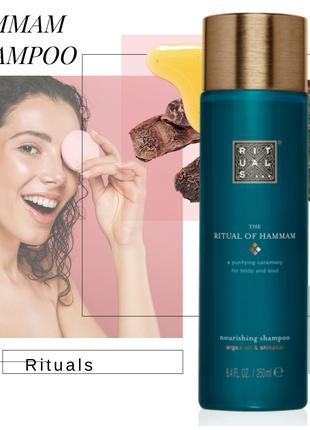 Шампунь  для волос. Ritual of Hammam. Shampoo/250мл. Нидерланды.