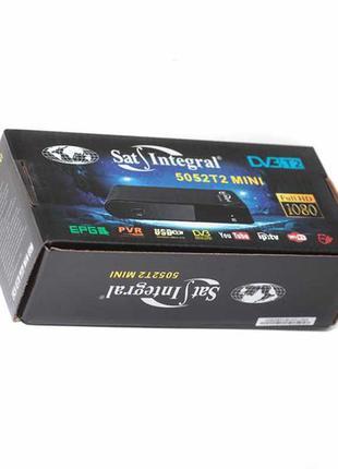 Sat-Integral 5052T2 mini Цифровой эфирный приемник DVB-T2