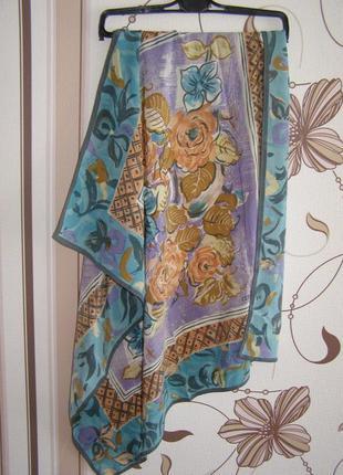 Шелковый платок cerruti 1881, италия