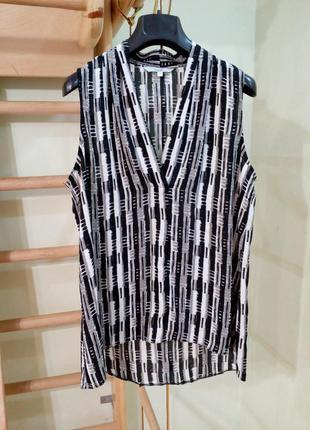 Лёгкая блуза с удлиненной спинкой 14