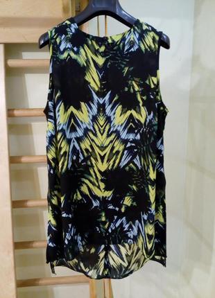 Лёгкая удлиненная блуза туника с разрезами по бокам 12