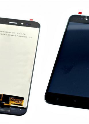 Дисплей для Xiaomi Mi A1/Mi 5x черный, с тачскрином