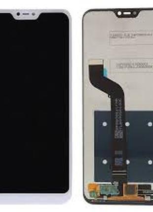 Дисплей для Xiaomi Mi A2 Lite/Redmi 6 Pro белый, с тачскрином
