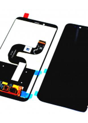 Дисплей для Xiaomi Mi A2/Mi 6x черный, с тачскрином
